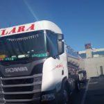 El camionero Juan Aspirina, falleció con 49 años recién cumplidos en la soledad, área de descanso de Saint-Albain