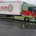 Pánico en la A10, tras un tiroteo con un camión español afectado por los disparos