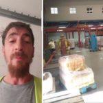 Un camionero denuncia que Cocacola, Bezoya y El Corte Inglés, obligan a cargar y descargar después de jornadas interminables
