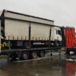 Multa de seis mil euros a un camionero por un transporte irregular y problemas con el tacógrafo