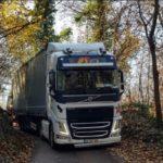Liberado por fin, el camión del conductor portugués después de una semana comiendo de lo que llevaba