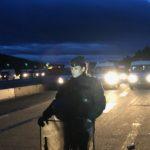 Los Antidisturbios franceses no cargarán contra los manifestantes en el viaducto esta noche por ser demasiado peligroso