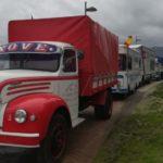 El emotivo homenaje al camionero asturiano Miguel Álvarez en la concentración de Ortigueira