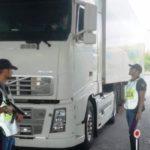 Un camionero georgiano paga 4.000 euros por conducir 15 horas sin parar
