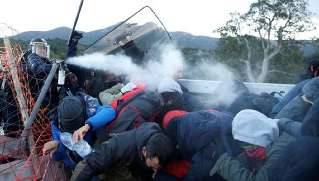 Gendarmes franceses 18 detenidos, Mossos d´Esquadra 01