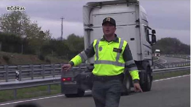 La DGT levanta todas las restricciones al tráfico de mercancías por el coronavirus