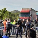EL COMITÉ NACIONAL DEL TRANSPORTE DENUNCIARÁ A LOS RESPONSABLES DE LOS CORTES EN LA JUNQUERA