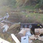 Muere un camionero al caer por un desnivel de 15 metros en la C-15 en Capellades