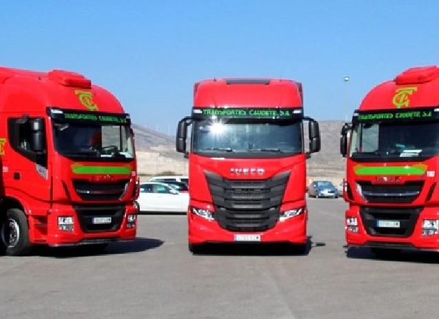 «El nuevo camión Iveco S-Way  de Transportes Caudete»