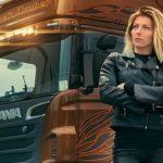 Las mujeres camioneras están cada vez más seguras de convertirse en las reinas del asfalto