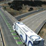 Un camión autónomo viajó tres días entregando una carga de mantequilla a 3.000 km de distancia
