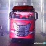 VÍDEO | Así es el IVECO S-WAY, el camión que apuesta por la eficiencia y la conectividad presentado en Salamanca