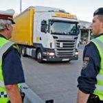 Denunciados dos camioneros rumanos, por al menos 50 infracciones relativas al tacógrafo y la legislación social de la UE