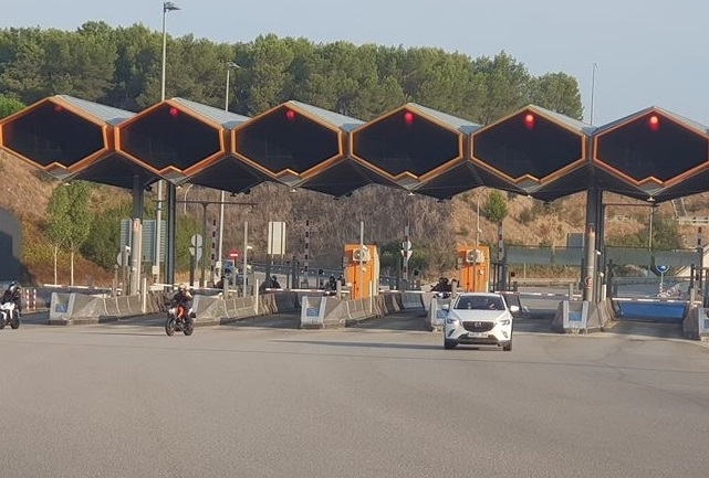 La AP-7 abrirá las barreras y será gratuita desde el uno de enero