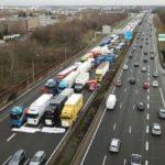 Huelga en Francia: 600 kilómetros de embotellamientos en París