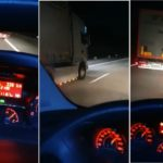Filman un camión portugués adelantando a 140 km/h y preguntan si esto es normal (Vídeo)