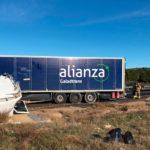 """Un camionero herido tras hacerle """"la tijera"""" el camión que conducía en los Altos de Caudete"""