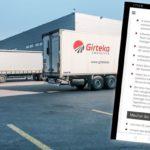 No, no es cierto que Girteka busque camioneros por 700 euros al mes