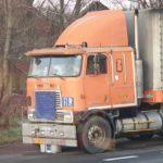 El camión con más de 35 años, que todavía hacía transporte internacional entre Irán y Polonia