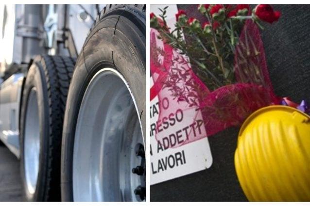 Muere un hombre decapitado, tras explotar la rueda del camión que reparaba en la empresa