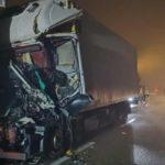 La niebla y el hielo causa de la muerte de un camionero de 40 años en la 434 Legnago