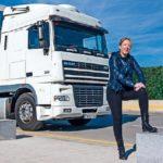 Ana Mesa camionera:  «Tenía una ilusión loca por subirme a un camión»