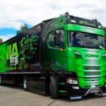 Por qué Scania marca la diferencia en camiones decorados… puedes verlo aquí