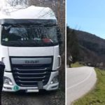 Un camionero 'escapa' del 'triángulo de la pantaloneta' gracias a un vecino de Berceo