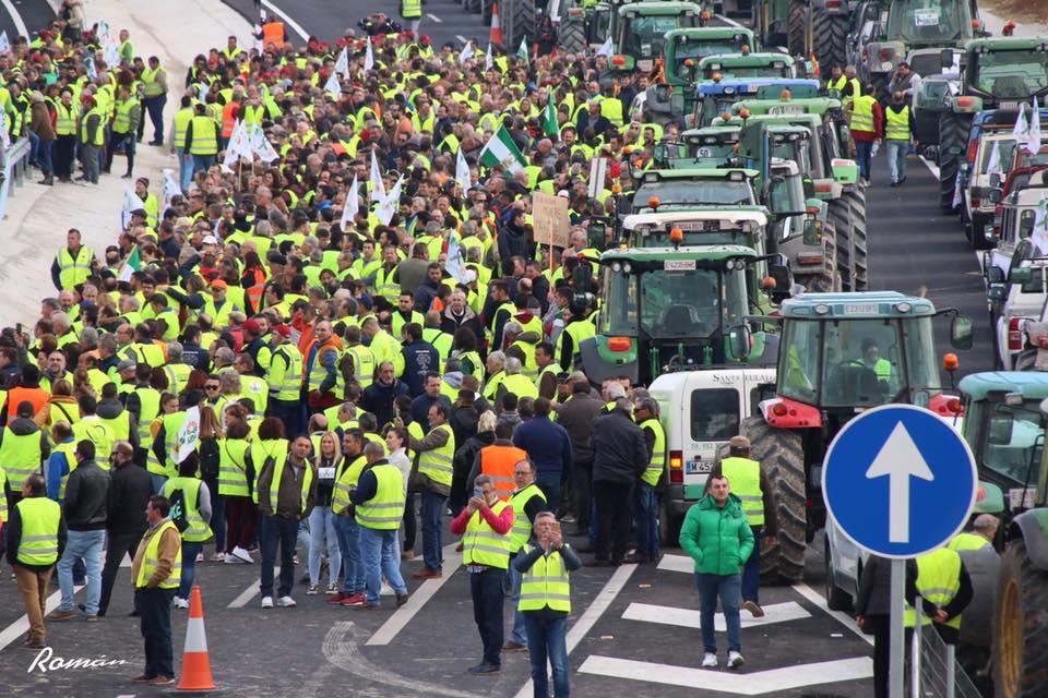 Resultado de imagen de huelga agricultores 2020