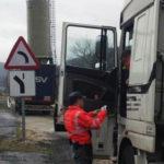 Kamikaze en la carretera más peligrosa de Navarra: denunciado un camionero por un adelantamiento