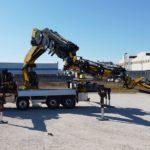 Effer 2255 en camión: La super grúa instalada de gran capacidad que puede mover hasta 40 tn