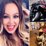 Buscan pruebas que impliquen al indeseable que provocó la muerte de la motorista Rocío, al invadir el sentido contrario en doble contínua