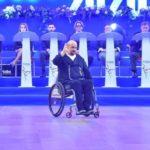 Un camionero en silla de ruedas gana la medalla de bronce en el Campeonato Nacional de danza Paralímpica