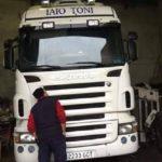Ayuda urgente. Camión Scania blanco, matrícula 2233 GCT robado en Villaconejos