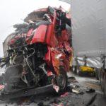 Un muerto en una colisión entre tres vehículos pesados en la RCEA en Coulanges (Allier)