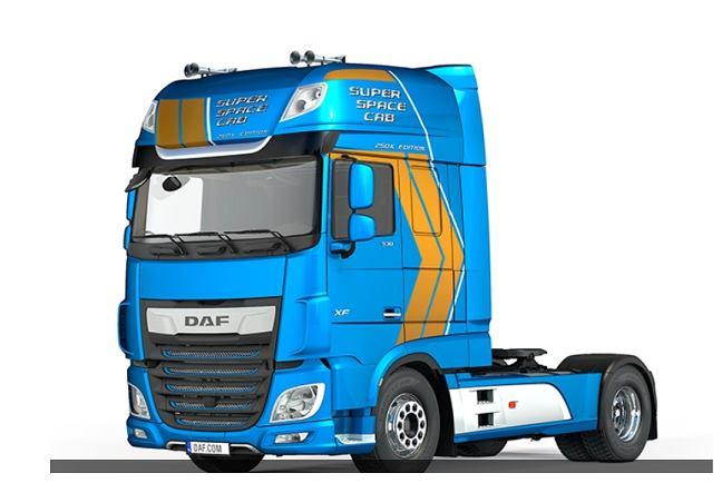 Daf presenta la edición de aniversario de la cabina «Super Space Cab»