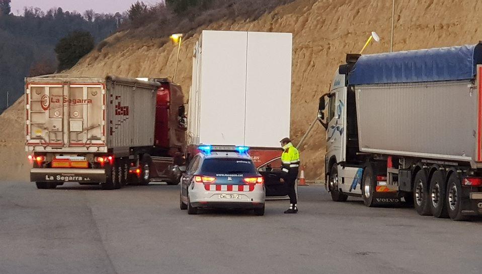 Aprobadas las restricciones a camiones en Cataluña 2020