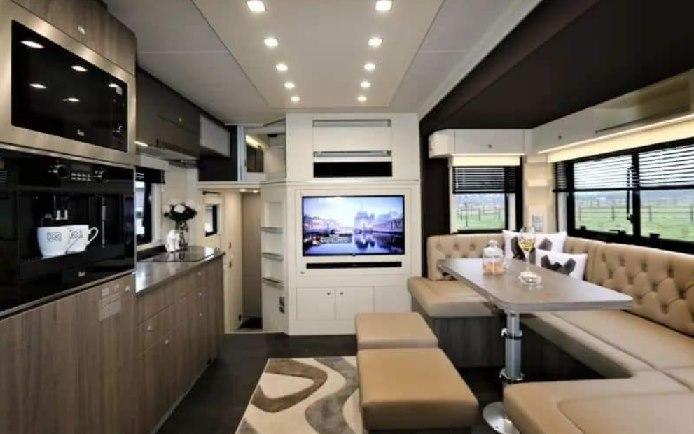 Camiones Volvo transformados en casas de Lujo