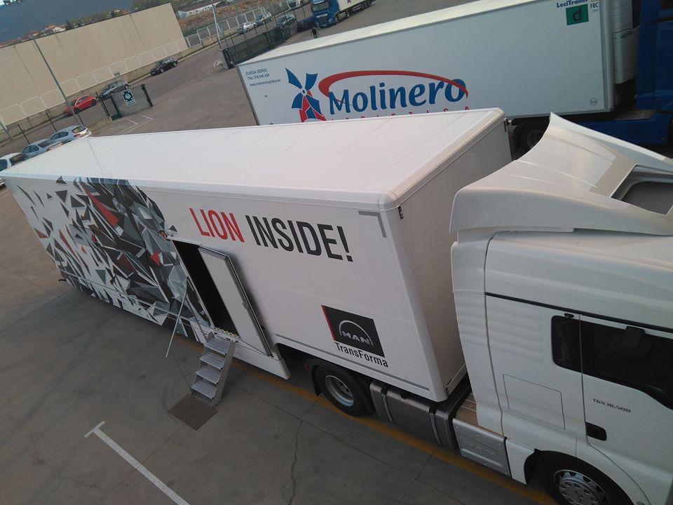 ¿Por qué Molinero logística sufre siempre la falta de conductores? La compañía adquiere un simulador de Alto Rendimiento para iniciar la formación a conductores