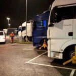 La policía danesa castiga severamente a los transportistas después del control de estacionamiento del domingo