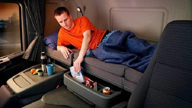 Multas directamente al conductor, para aquellos atrapados con un descanso de 45 horas en la cabina