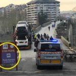 Un camión se cuela en el Puente Romano y peatonal de Ourense
