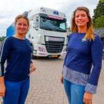 Camioneras Mariëlle y Caroline: 'Los hombres pueden aprender mucho de nosotras'