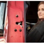 """Anette, camionera de 23 años,  """"Vivo en el camión de lunes a viernes, pero es una profesión genial"""""""