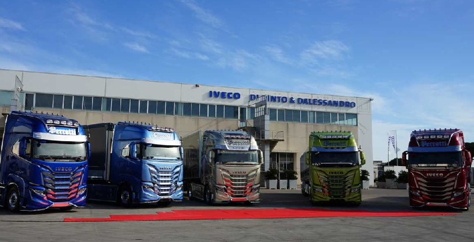 iveco 5 customized s way for the perrotti s fleet