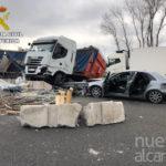 El conductor del camión que provocó el accidente de la A2 octuplicaba la tasa de Alcohol