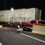 Un camionero revienta el coche de los delincuentes que le querían asaltar