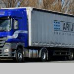 Bélgica confisca los camiones de la empresa lituana Arijus UAB, por dumping social