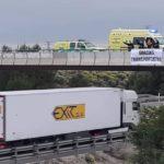 Ministro Ávalos: Los camioneros solo piden acceso a los aseos y víveres «Agua y comida caliente»
