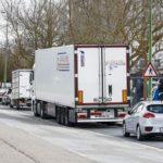 El estacionamiento de camiones también empieza a ser multado con 200 euros en Burgos